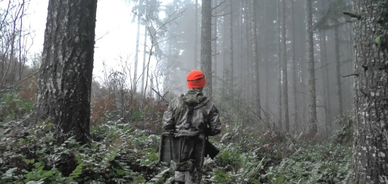 Hunter in Birthplace of Rivers area
